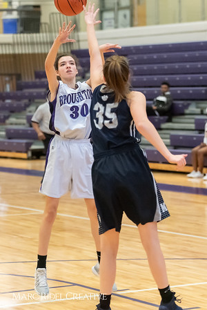 Broughtongirls JV basketball vs Millbrook. February 14, 2019. 750_7013
