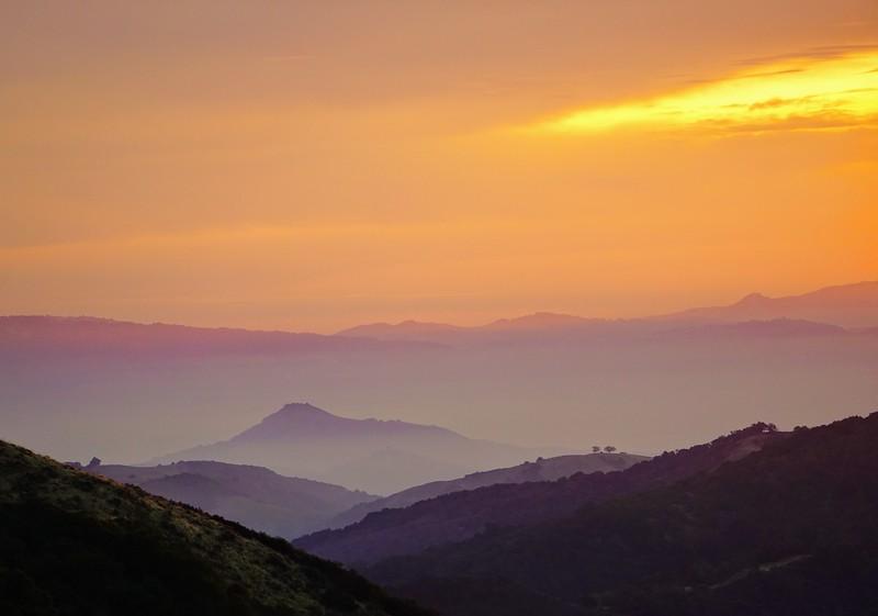 Sunrise at Sierra Azul