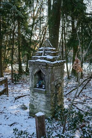 2019 Sneeuw-Wandeling in januari.