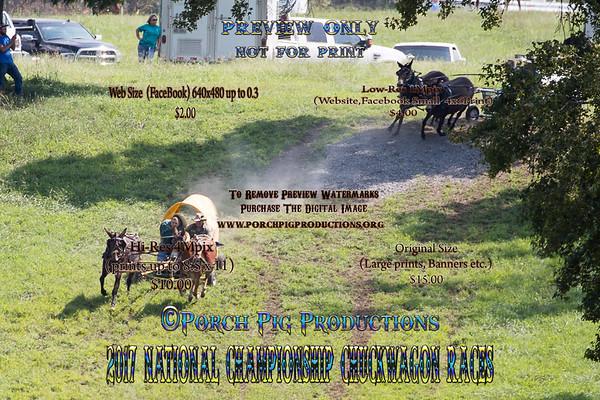 Friday Big Mules, 2017 National Championship Chuckwagon Races