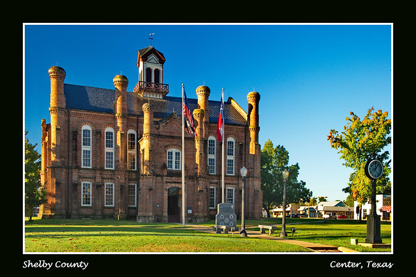 254 Texas Courthouses by County