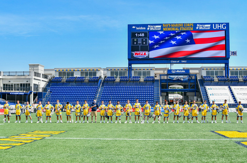 July 22, 2020 Annapolis, MD - Navy-Marine Corps Memorial Stadium New York Lizards vs Connecticut Hammerheads. Photography Credit: Alex McIntyre