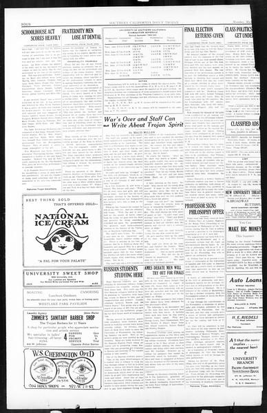 Daily Trojan, Vol. 16, No. 112, May 25, 1925