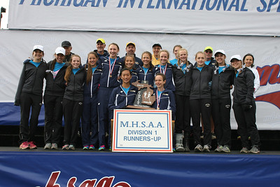 Awards - Team, D1 Girls - 2013 MHSAA LP XC Finals