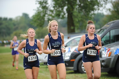 Varsity Girls Loop 2 - 2015 OU Golden Grizzly HS Invite