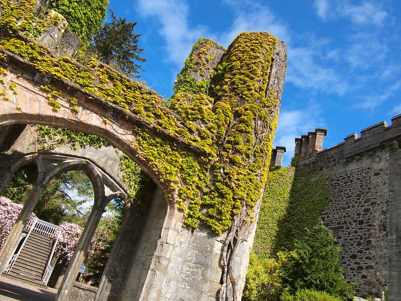 Armadale Castle ruins, Isle of Skye