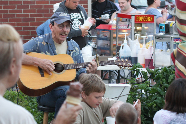 3rd Thursday, Music, Flowers and a Sunset, June  16, 2011