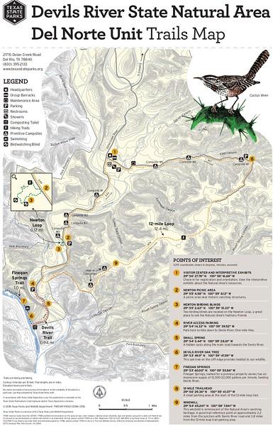 Devils River State Natural Area -- Del Norte Unit (Trails)