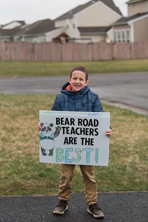 KWS Bear Road 2019-2020: Staff Parade March 2020