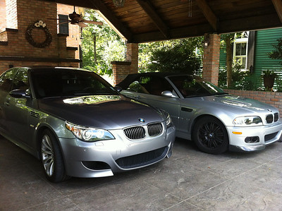 Our e46 and e60 M Cars