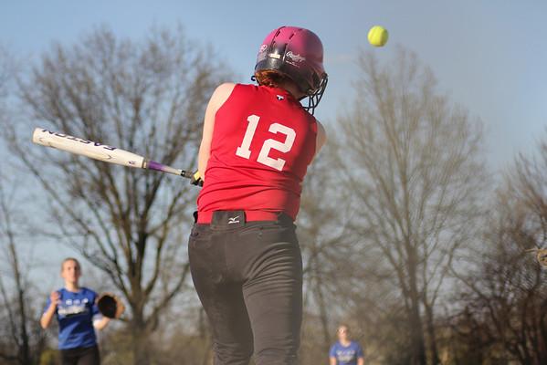 DCS Softball  April 22, 2013