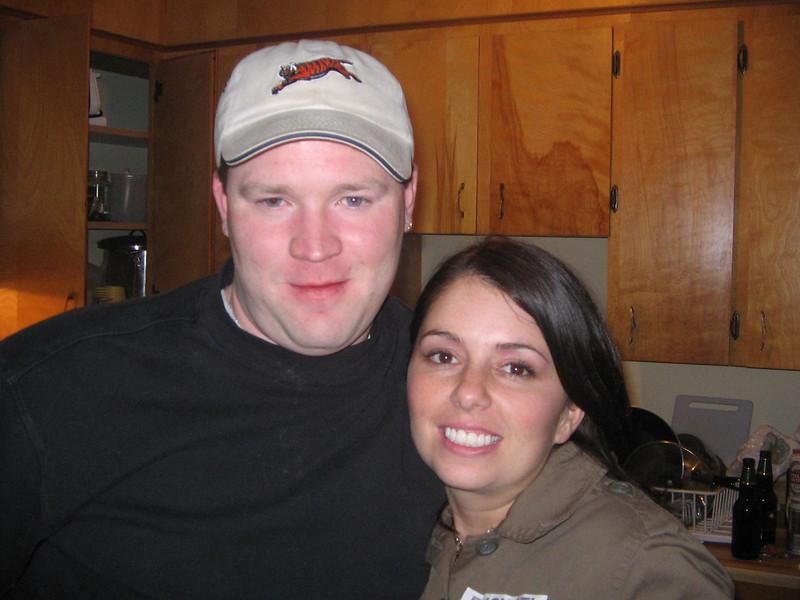 Ryan and I at Big Trevs