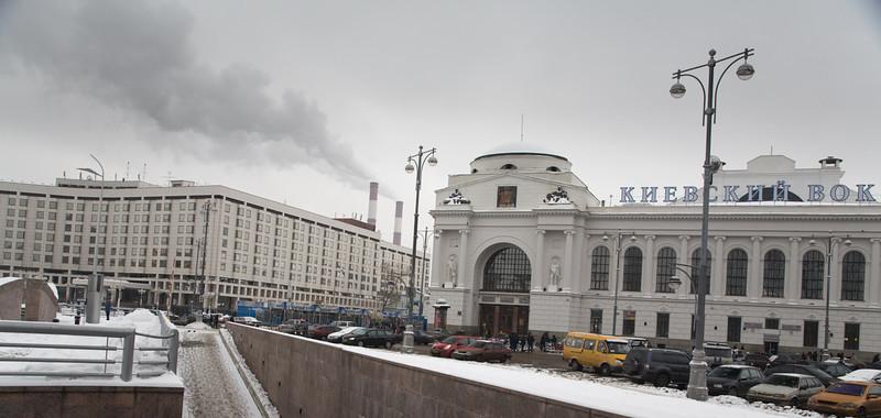 Kievskij Vaksal, Moscow, 2007