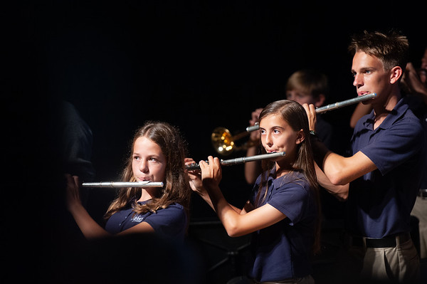 HS Fall Band Performance