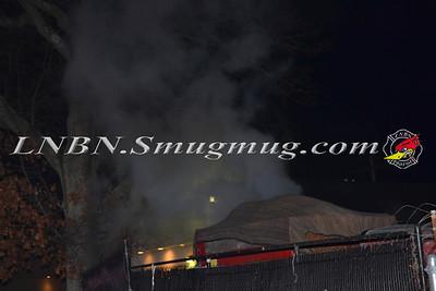 Massapequa F.D. Truck Fire 4140 Sunrise Hwy 12-12-11