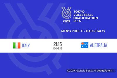 20190810 AUSTRALIA vs ITALIA