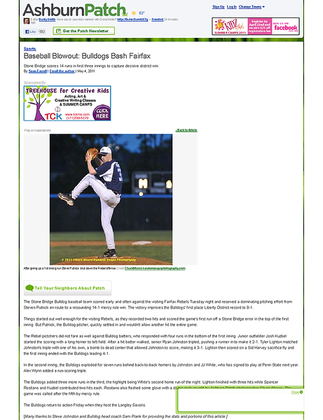 Baseball Blowout_ Bulldogs Bash Fairfax - Ashburn, VA Patch.png