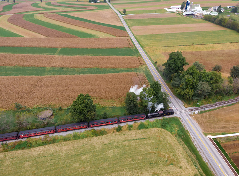 1534 - gfdp - Strasburg Railroad At Carpenters Crossing