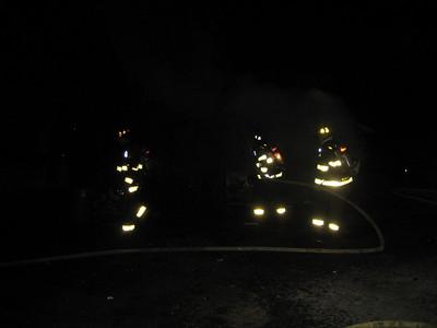Chapel Street, Norwood - Building Fire: April 1, 2007