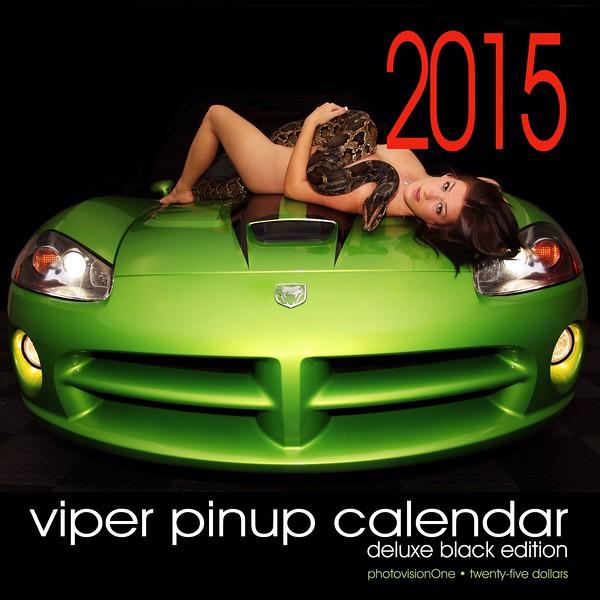 2015 Viper Pinup Calendar