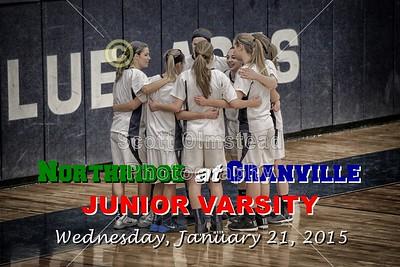 2015 Northridge at Granville (01-21-15) Junior Varsity