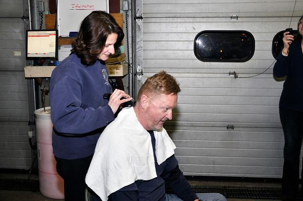 Trappe Fire Company has a close shave