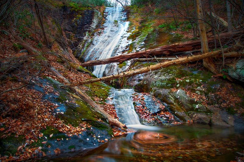 Autumn at Crabtree Falls