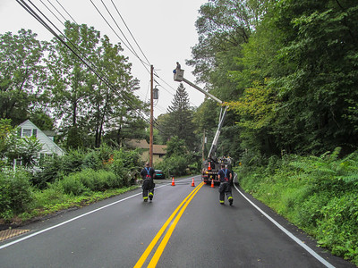 9-6-17 Wires Down, Sprout Brook Road, Photos By S. Rimm