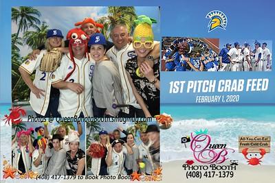 San Jose State Baseball and Softball 1st Pitch Crab Feed 2020