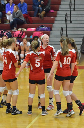 JVG Volleyball vs WHS 11-24-15