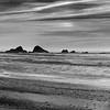 Offshore Rocks _ bw