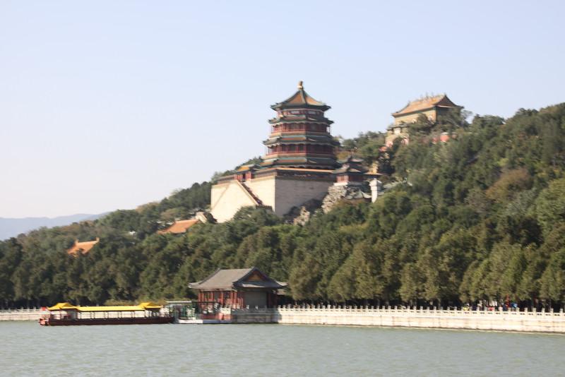 Summer Palace with lake