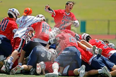 6/6/2015 (Playoff) NYS Class C Championship Game - Cazenovia vs. Cold Spring Harbor - Vestal High School, Vestal, NY
