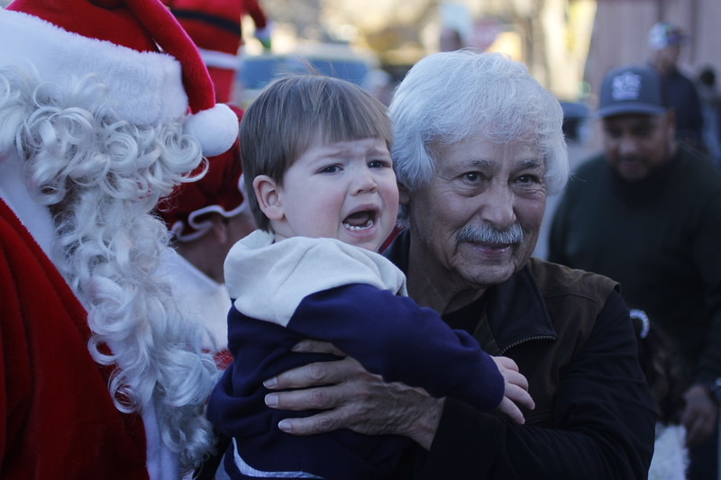 The Holiday Lighting on the Plaza on Friday, November 24, 2017. Luis Sánchez Saturno/The New Mexican