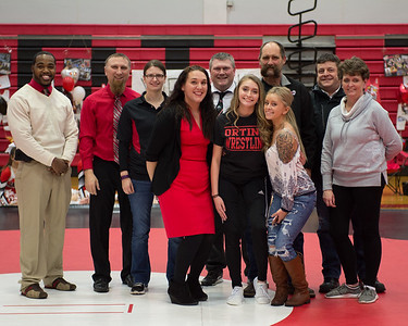 Orting Wrestling Sr Night