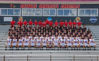 CUA Football Team Photos 2021