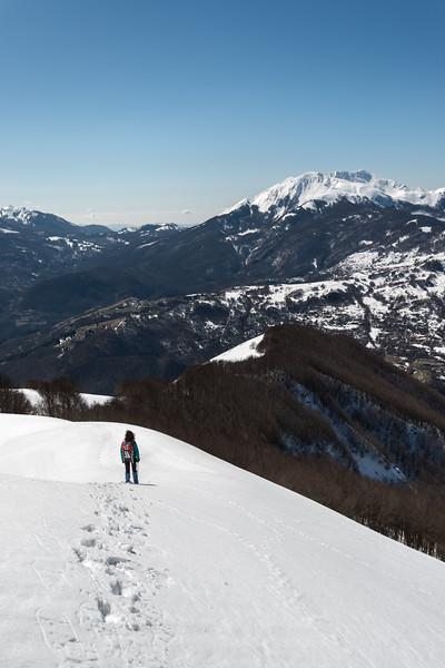 Alpe di Succiso - Monte Ventasso, Busana, Reggio Emilia, Italy - March 19, 2016