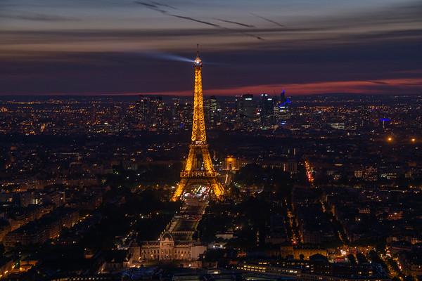 Paris, Mont St Michel, Normandy & Barcelona