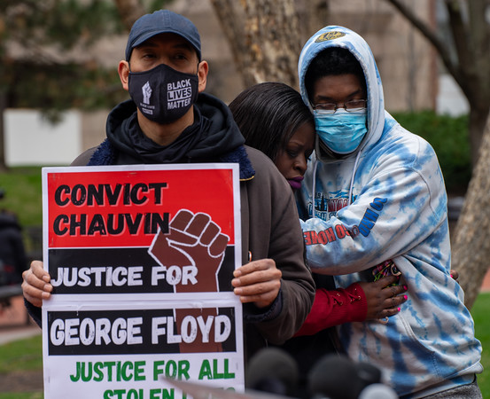 2021 04 15 MN Justice Coalition Press Conference Denouncing Repression Against Protesters