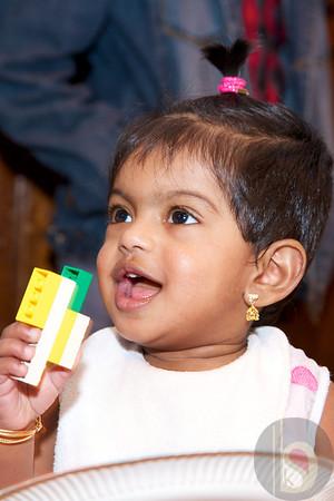Shasvitha's 1st B'day