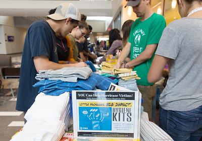 Students Provide Hurricane Help