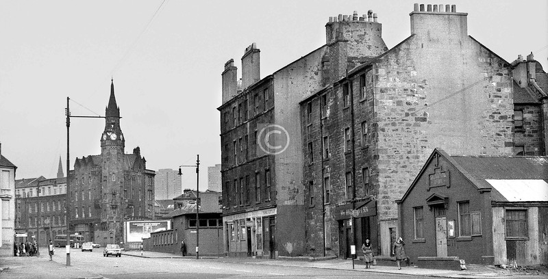 Stirling Rd, looking northeast from St James Rd     March 1973