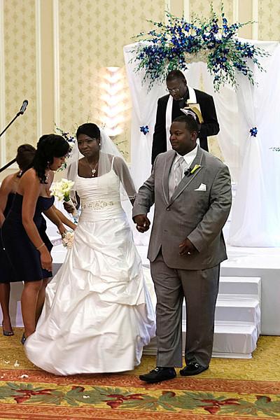 Tia & Chris's  Miami Wedding Ceremony