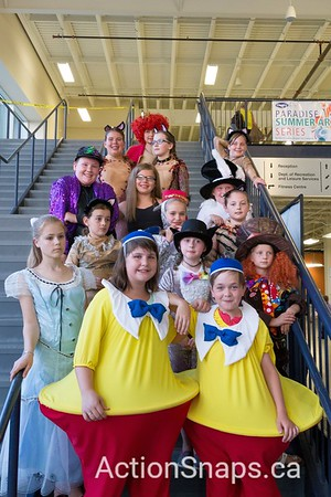 2016-07 Paradise Arts Community - The Antle Sisters, and Youth Theatre Night