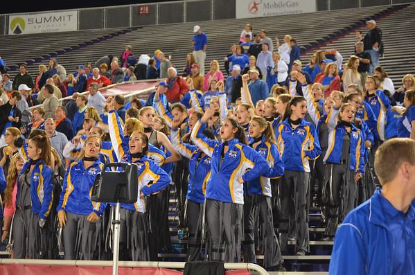Band at Davidson Game  (Ladd Stadium)