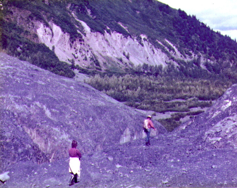 Dave & Connie, The long trail Back from Exit Glacier .jpg