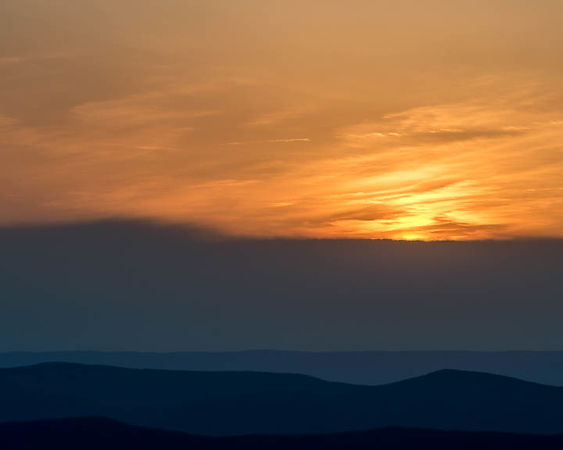 2017-Week 20 - Sunset over the Massanutten Mountain Range.jpg