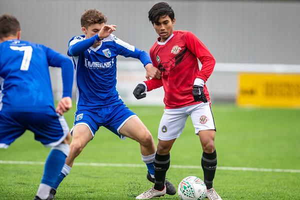 Garuda Select XI vs Gillingham U18s - 26th Nov 2019