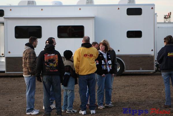 USMTS Junction Motor Speedway McCool Juntion, NE 3-6-09 drivers meeting