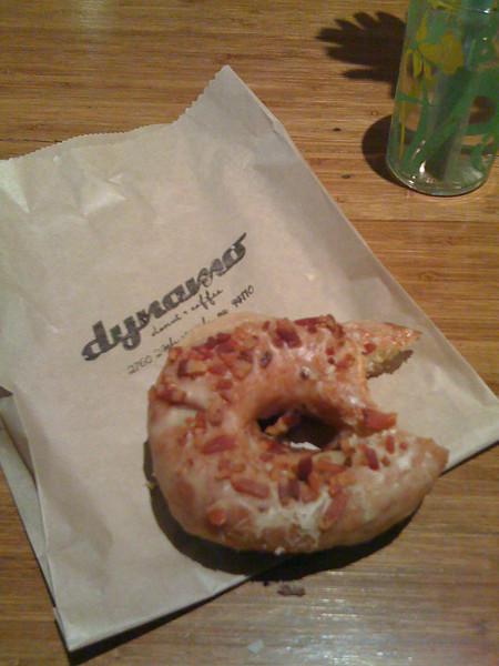 maple bacon omg donut.